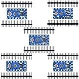 Aideepen 5個 Arduino Pro mini 5V 16MHzミニ 互換性のある開発ボードATMEGA328P搭載改良版、Nano V3.0 CH340Gモジュール基板水晶発振器ピン付きATmega128互換ボードArduino用マイクロ