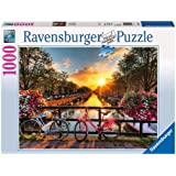Ravensburger Bicycles in Amsterdam Puzzle 1000pc,Adult Puzzles
