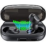 Bluetooth イヤホン Hi-Fi 3Dステレオサウンド 完全 ワイヤレス イヤホン 自動ペアリング 自動電源ON/OFF ブルートゥース イヤホン Siri対応 IPX7级防水 左右分離型 片耳&両耳とも対応 マイク内蔵 2200mAh大容量