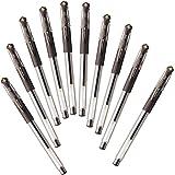 三菱鉛筆 ゲルボールペン ユニボール シグノ 0.38 ブラウンブラック 10本 UM151.22