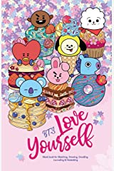 YES SKETCH, BTS Love Yourself: Blank Notebook for Sketching, Drawing, Doodling, Journaling and Notetaking, with 방탄소년단 BT21 cover for ARMY (Sketchbook) ペーパーバック