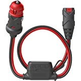 NOCO GC003 X-Connect 12V Dual-Size Male Plug Accessory for Smart Battery Chargers, Black and Red
