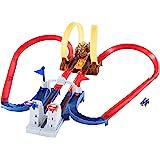 ホットウィール マリオカート クッパ城からの脱出! 【ブルーヨッシー1台付き】【5歳~】 GNM22