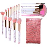 Marble Makeup Brushes Set, Audeful 17 Pcs Professional Make up Brush Tools kit Synthetic Kabuki Face Blush Lip Eyeshadow Eyel