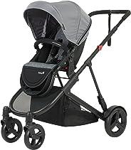 SAFETY 1ST Envy 4 Wheel Multi Position Newborn Stroller, Dusk Grey