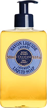 L'Occitane Shea Extract Liquid Soap, Lavender, 500ml