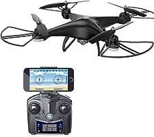 Holy Stone 无人机720P 广角高清摄像头带高度保持 FPV 实时 ヘッドレスモード 搭载国内认证 hs110d