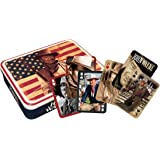 John Wayne Flag Playing Card Tin Set