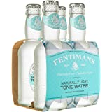 Fentimans Naturally Light Tonic Water, Botanically Brewed, All Natural Ingredients, 4 Pack, 800 ml, Naturally Light Tonic Wat
