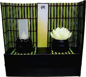 光蓮花セット 省スペース お盆の祭壇代わりに