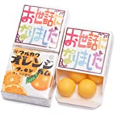 吉松 マルカワガム [ お世話になりました 虹色 / オレンジ ] 24個入 挨拶 お礼 感謝 退職 メッセージ お菓子 プチギフト ( 個包装 )