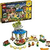 LEGO Creator 3in1 Fairground Carousel 31095 Building Kit