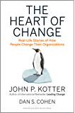 The Heart of Change: Real-Life Stories of How People Change Their Organizations (English Edition)