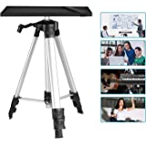 Neewer Aluminum Tripod Projector Stand, Adjustable Laptop Stand, Computer Stand with Plate and Carry Bag, Adjustable Height 1
