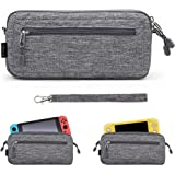 Sisma Lightweight Slim Carrying Case for Nintendo Switch or Switch Lite Console, Travel and Storage Pouch Protective Cover -