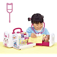 【Amazon.co.jp 限定】メルちゃん おせわパーツ おしゃべりいっぱい うさぎさんきゅうきゅうしゃ(ピンクのまつ…