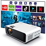 SOTEFE® Android WiFi Projector Portable - Wireless Mini LED Video Projector 1080P Full HD Projector Support 4K Download App M