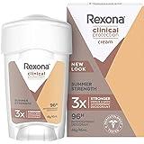 Rexona Women Clinical Antiperspirant Stick Deodorant Summer Strength, 45ml