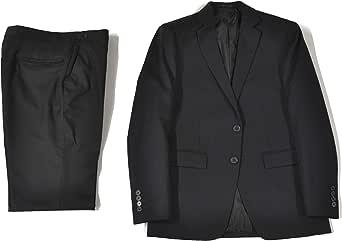 タキシードステーション フォーマルスーツ シングル 2つボタン オールシーズン アジャスター付 メンズ ブラックスーツ 礼服 喪服 冠婚葬祭 黒スーツ 入社式 入学式 リクルートスーツ 就活