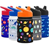 Simple Modern 10oz Summit Sippy Cup for Toddlers - Infant Water Bottle Vacuum Insulated Cups Double Wall Kids Hydro Travel Mu