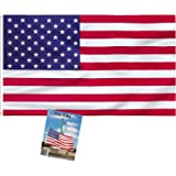 MJB Inspired USA Flag. Robust Full Size 3 ft X 5 ft Polyester National Flag is Suitable for Indoor or Outdoor use. Showing Yo