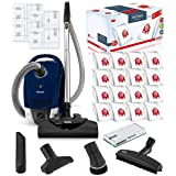 Miele Compact C2 Electro+ Canister HEPA Canister Vacuum Cleaner with SEB 228 Powerhead Bundle - Includes Miele Performance Pa