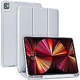 【Amazon限定ブランド】 iPad Pro 11 ケース 5G 第五世代専用 2021年4月発売 Pencil2 ワイヤレス充電対応用 iPad Pro 11インチ Pencilホルダー付き オートスリープ ウェイク 三つ折りスタンド - Ara