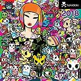 LeSportsac tokidoki 2018 Wall Calendar