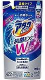 花王 アタックNeo 抗菌EX Wパワー 洗濯洗剤 濃縮液体 詰替用 360g 335159 【まとめ買い5本セット】