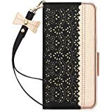 WWW Samsung Galaxy S20 Plus Case,Galaxy S20 Plus Wallet Case, [Luxurious Romantic Carved Flower] Leather Wallet Case [Inside