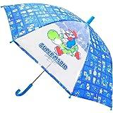 ジェイズプランニングキッズ傘 スーパーマリオ ブルー 50cm 70071