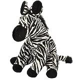 "Wild Republic 19378 Zebra, Stuffed Animal, Plush Toy, Gifts for Kids, Cuddlekins, 12"", White/Black"