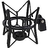 LyxPro MKS1-Black Studio Condenser Spider Shockmount, Anti Vibration & Isolation