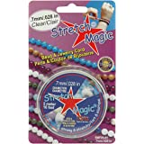 Pepperell 0.7mm Stretch Magic Bead and Jewelry Cord, 5m Clear