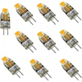 Bi-Pin Mini G4 LED Bulb 12V-24V DC 1W COB 0705 SMD Silicone Lamp Chandelier Combination Crystal Transparent Lamp Reading Warm