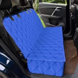 Hooyu Pet Seat Cover for Back Seat Machine Washable Car Seat Covers for Dogs Waterproof & Scratch Proof & Nonslip Backing Dog