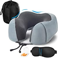 ネックピロー U型 首枕 携帯まくら 安眠 人気 低反発素材 洗えるカバー 多機能 男女兼用 お持ち運び便利 旅行用品…