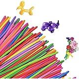 バルーンアート 風船 割れにくい マジックバルーン (300個セット/アソートカラー) ペンシルバルーン ふうせん 【 誕生日 クリスマス ハロウィン などの イベント で大活躍! 】 バルーン balloons ( 子供 に大人気の おもちゃ ♪