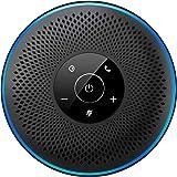 スピーカーフォン 会議用 マイクスピーカー Bluetooth5.0高音質 360˚全方向集音 双方向会話 ワイヤレススピーカーフォン Bluetooth/USB/AUX対応 エコー・ノイズのキャンセリング 3-8名程度Web会議・多人数遠隔会議用・