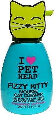 Pet Head Fizzy Kitty Strawberry Lemonade Mousse Cat Cleaner ,200 ml