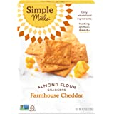Simple Mills Almond Flour Crackers, Farmhouse Cheddar, 4.25 oz