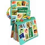 TEYTOY Baby Toy Soft Infant Activity Baby Toys, My First Word Book to Knowing The World