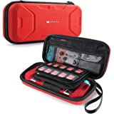 Mumba Nintendo Switch Carrying Case, [Plus Version] Protection Portable Protective Travel Carry Pouch for Blade/Battle Case [