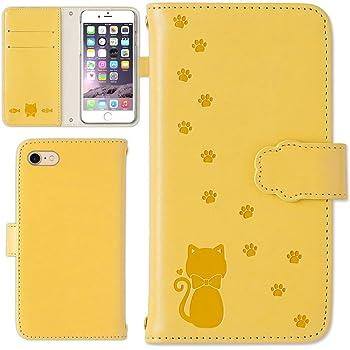 95d13807d0 Amazon | ipod touch 第5世代 ケース スマホケース 手帳型 型押し 猫 ...