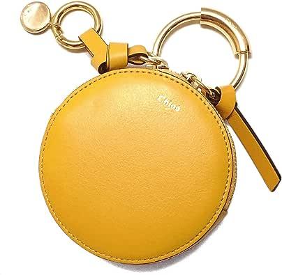 [クロエ]CHLOE' 財布 コインケース CHC17WP950H1Z776 COIN PURSES Dark Ochre イエロー レザー [並行輸入品]