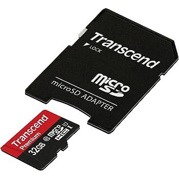 旧モデル【Amazon.co.jp限定】Transcend microSDHCカード 32GB Class10 UHS-I対応 Nintendo Switch / 3DS 動作確認済 TS32GUSDU1PE (FFP)