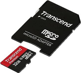 旧モデル 【Amazon.co.jp限定】Transcend microSDHCカード 32GB Class10 UHS-I対応 TS32GUSDU1PE (FFP)
