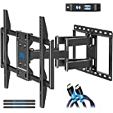 Mounting Dream TV Mount for Most 42-70 inch Flat Screen TVs Up to 100 lbs, Full Motion TV Wall Mount with Swivel Articulating