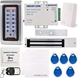 UHPPOTE Metal RFID Reader Access Control Security System Keypad ID Card & Magnetic Lock Bell