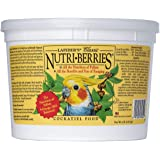 LAFEBER'S Classic Nutri-Berries Pet Bird Food, Made with Non-GMO and Human-Grade Ingredients, for Cockatiels, 4 lbs